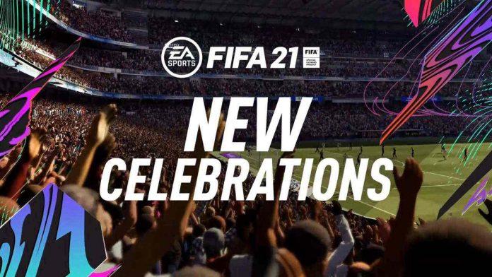 FIFA21 新增庆祝动作教程