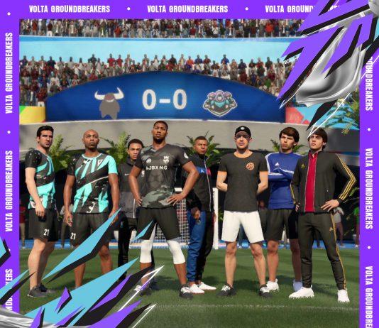 FIFA21 街球模式最新视频