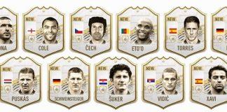 FIFA21 新传奇卡评分公布,所有传奇卡名单