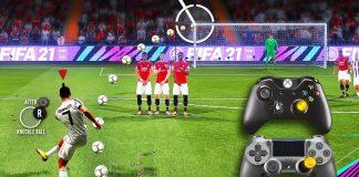 FIFA21 所有任意球教程
