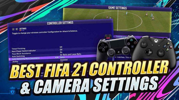 FIFA21 最佳手柄设置与游戏视角设置