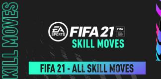 FIFA21 所有花式动作教程