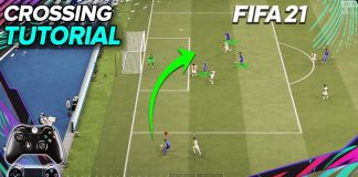 FIFA21 精准传中教程