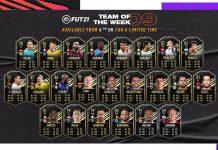FIFA21 每周最佳阵容 TOTW9