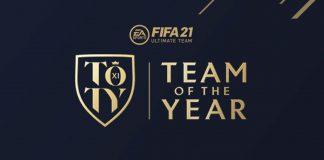 FIFA21 年度最佳阵容TOTY