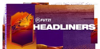 FIFA21 头条卡升级