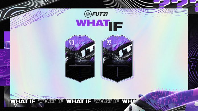 FIFA21 what if 假设卡