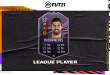 FIFA21 英超联赛球员鲁本戴维斯