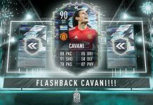 FIFA21 闪回卡瓦尼