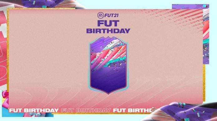 FIFA21 生日卡