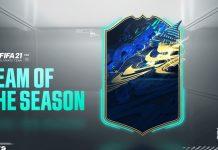 FIFA21 社区年度卡 TOTS 投票开始