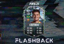 FIFA21 闪回库蒂尼奥