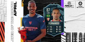 FIFA21 potm 费尔南多