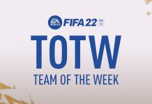 FIFA22 周黑totw预测