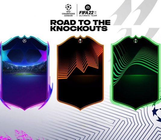 FIFA22 欧冠欧联欧协联动态卡RTTK